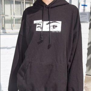 Brandy Melville I'll meet you in new york hoodie